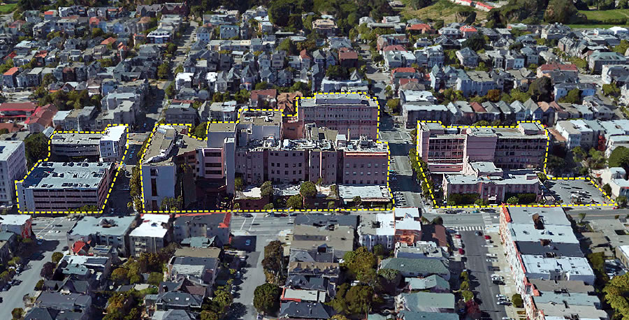 Semi-Massive Redevelopment of CPMC Campus Closer to Reality