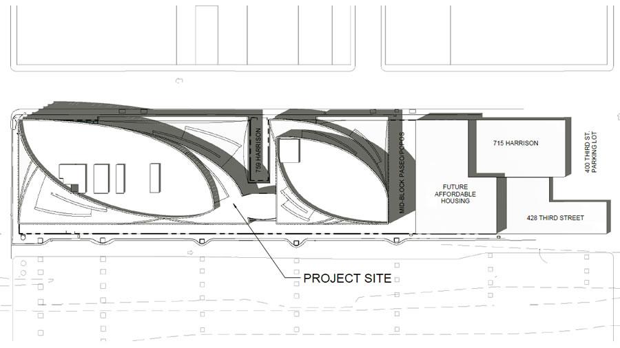 725 Harrison 2017 Site Plan