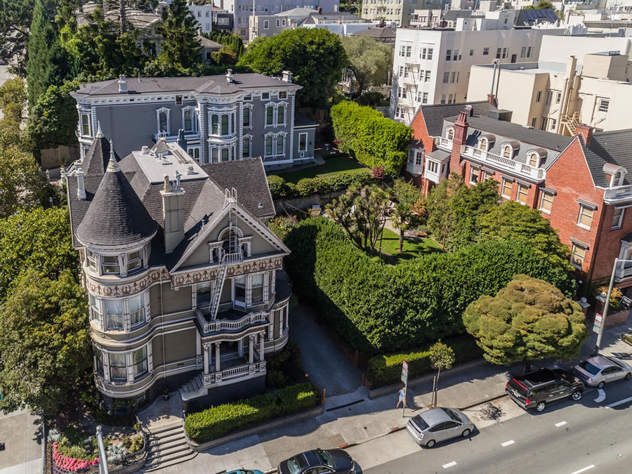 Landmark Victorian and Buildable Lot Fetch $7.0 Million