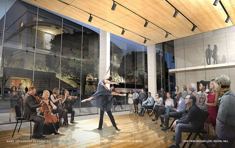 200 Van Ness Rendering 2017 - Recital Hall