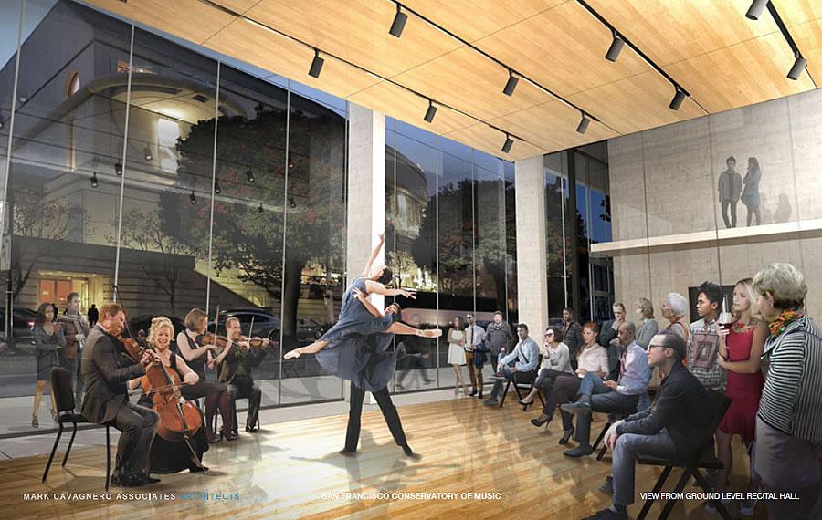 200 Van Ness Rendering 2017 - Recital Hall