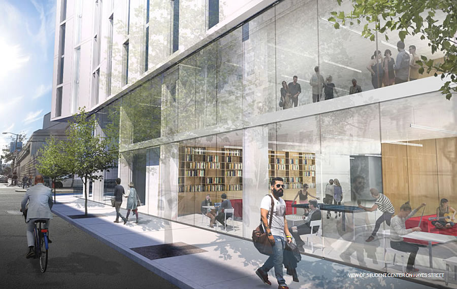 200 Van Ness Rendering 2017 - Student Center