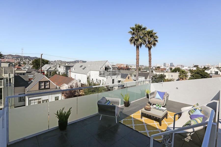 948 Hampshire Street Roof Deck