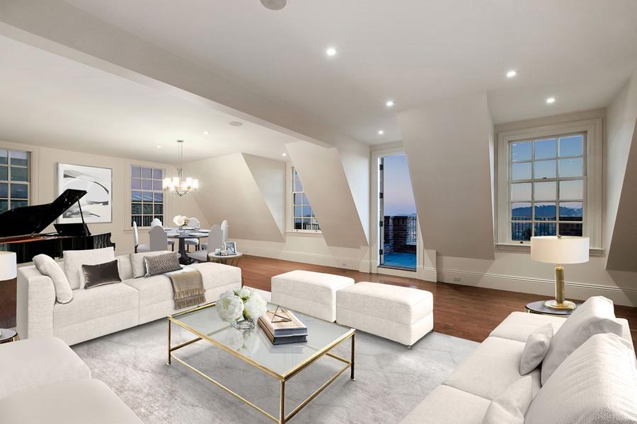 3001 Pacific Avenue Top Floor - Rendered