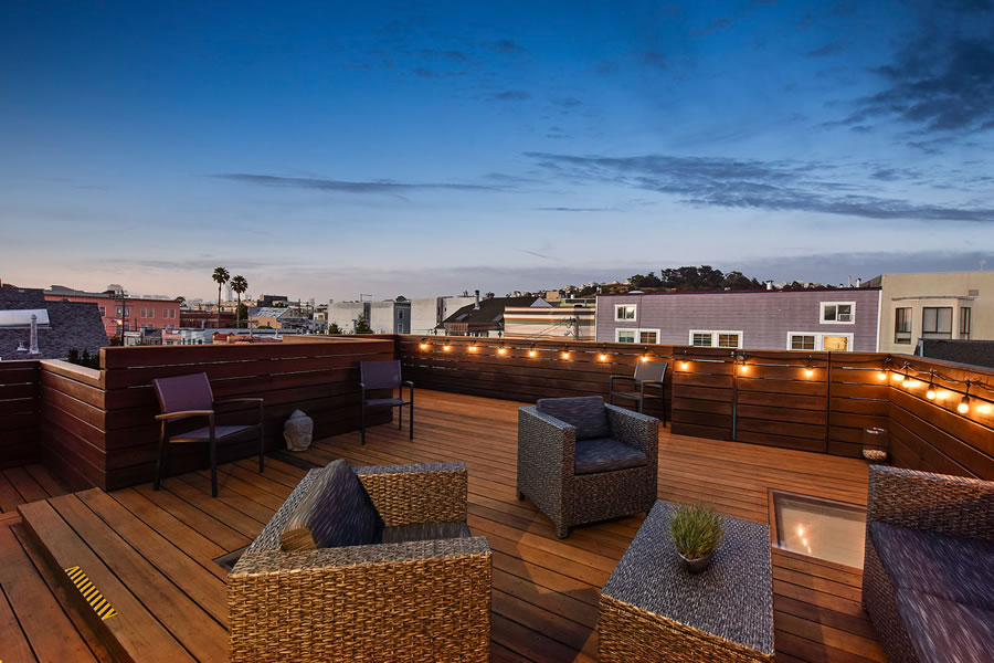 864 Florida Street Roof Deck