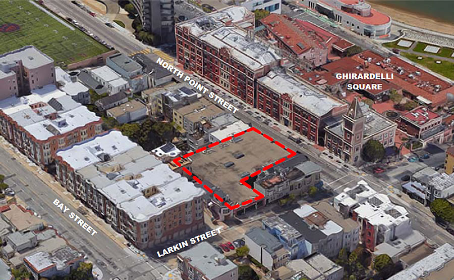Ghirardelli Garage Redevelopment Closer to Reality