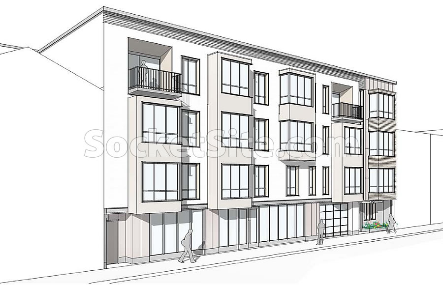 915 North Point Rendering