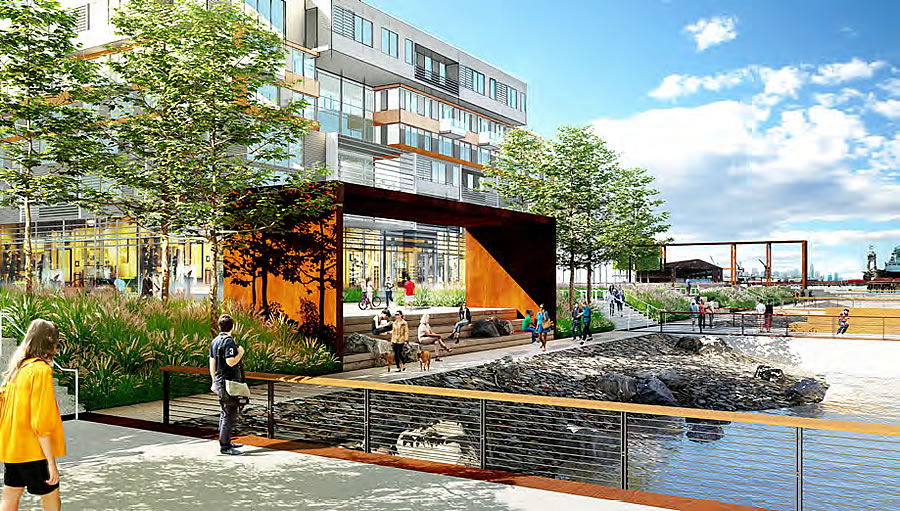Detailed Plans For The Future Of Pier 70 S Shoreline
