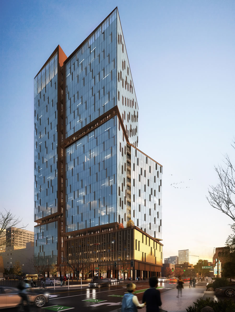 Detailed Plans for a 'Creative' Uptown Oakland Tower