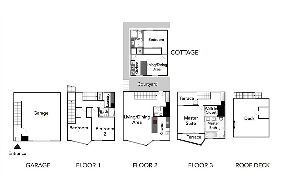 4443 19th Street Floor Plan