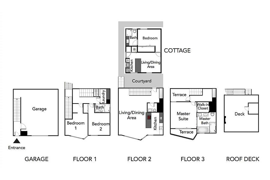 4443 19th Street Floor Plan