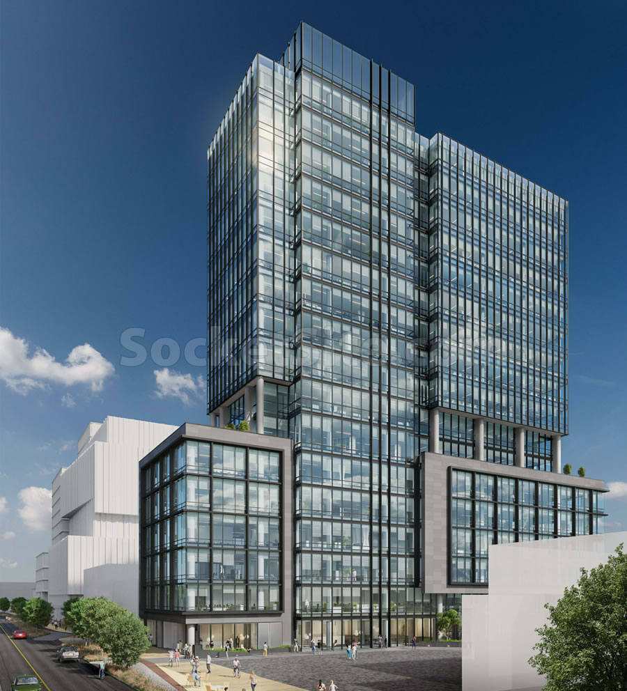 505 Brannan Street Expansion Rendering - Side