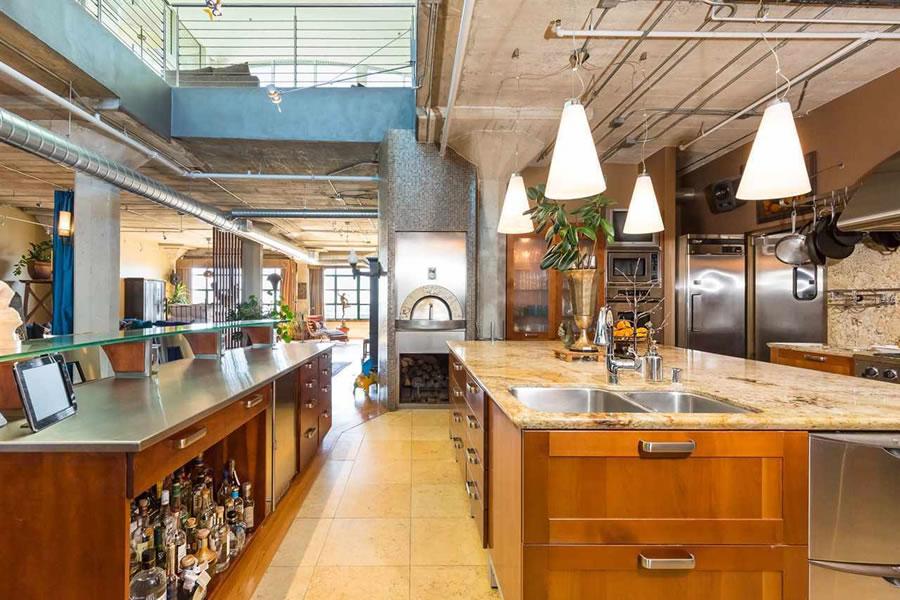 737 2nd Street #405 Kitchen