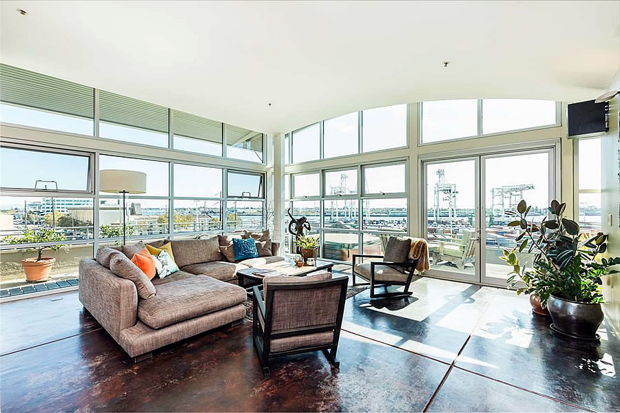 737 2nd Street #405 Penthouse Interior