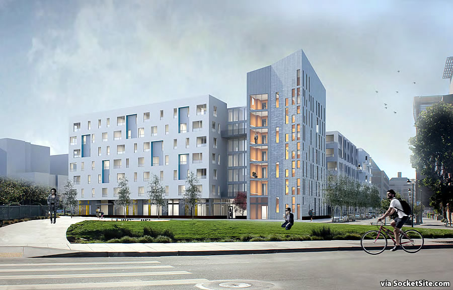 Mission Bay Block 6W Rendering: China Basin Street
