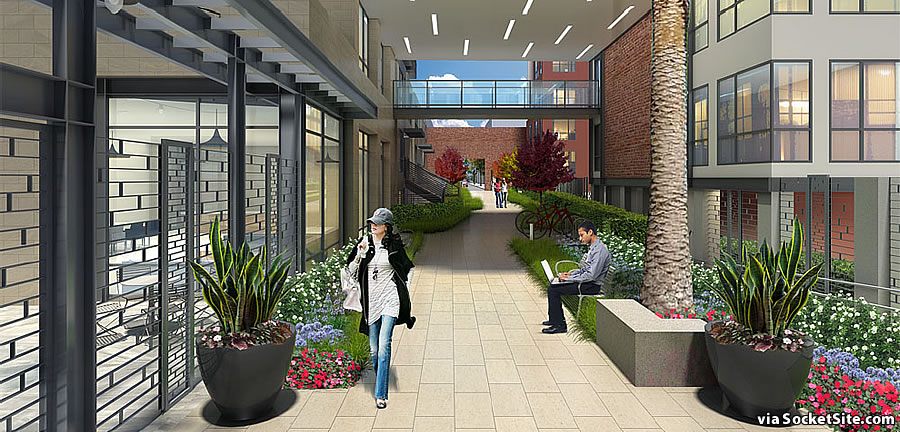 1140 Harrison Street Rendering 2018 - Passage