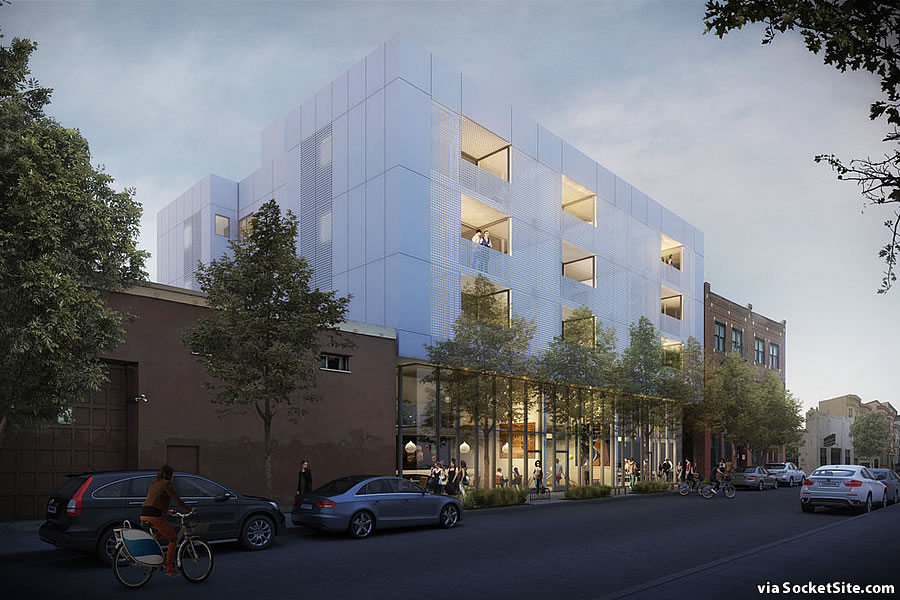 1721 15th Street Rendering: Night