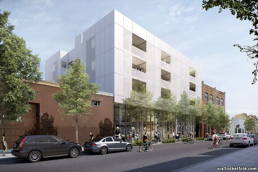 Proposed Mission District Development Newly Rendered