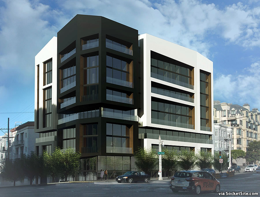 Supersized Van Ness Corridor Development Contemporized