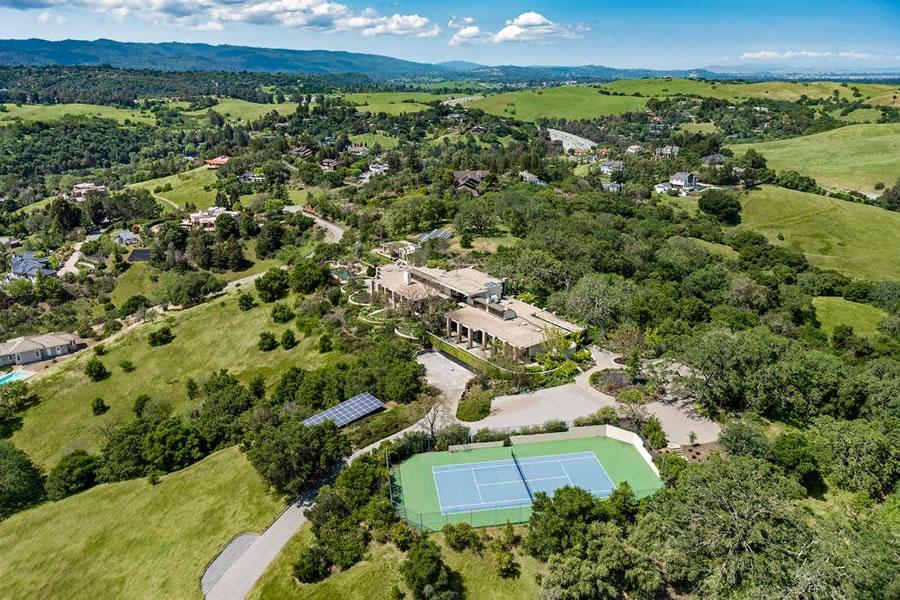 28011 Elena Road Los Altos Hills - Aerial