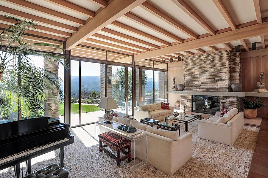 28011 Elena Road Los Altos Hills - Living Room