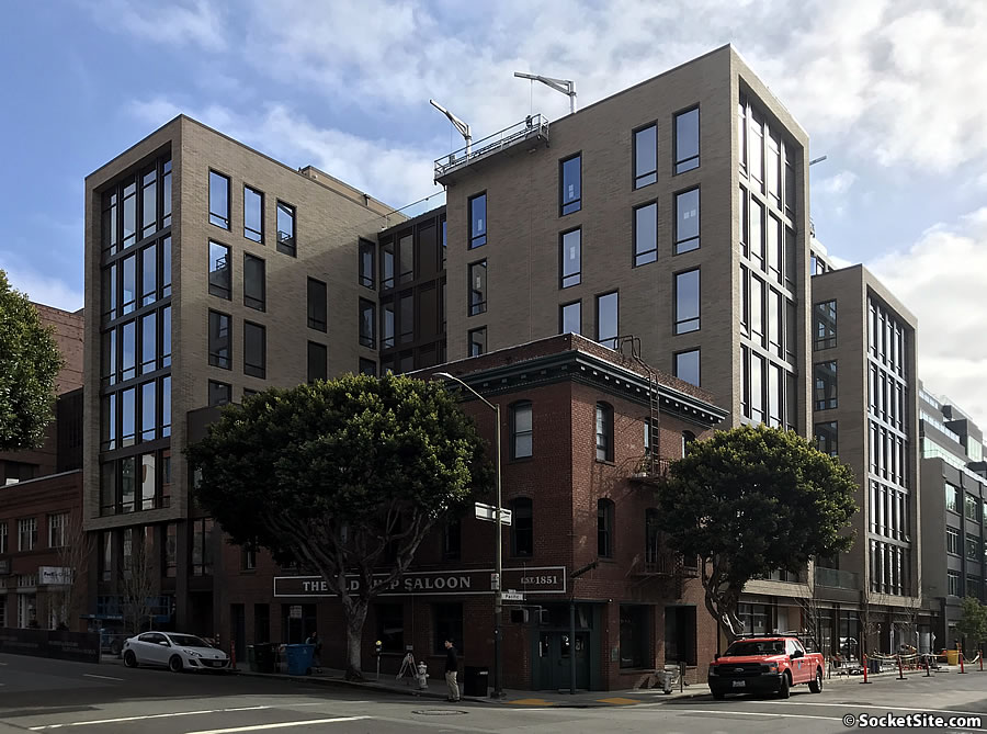 Pricing Index for New Condos in S.F. Ticks Up, Sales Drop