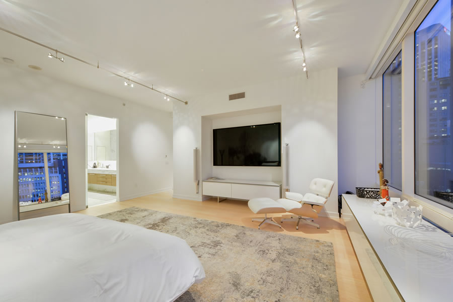 301 Mission Street #401 Master Bedroom Reverse