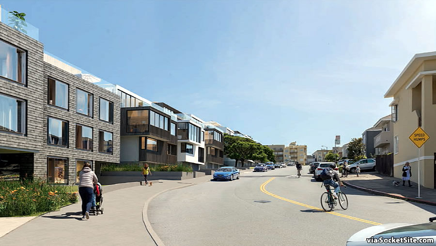 3333 Califonia Rendering - Laurel Street