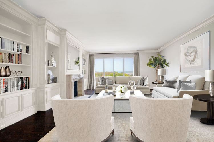 3515 Pacific Avenue Living - Stagged