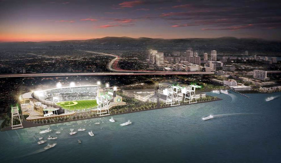 Governor Signs Bill to Expedite Oakland A's Ballpark Development