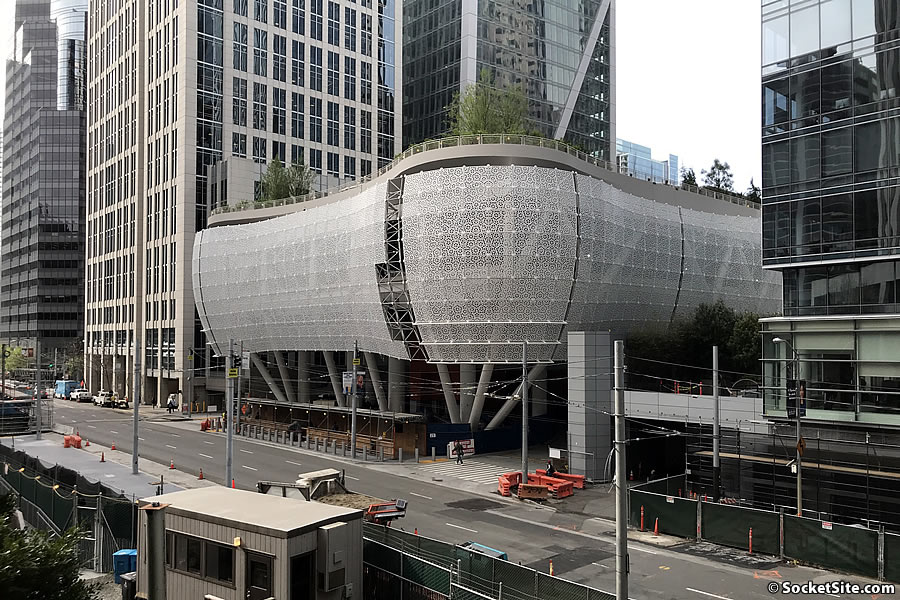 Target Opening Day for the Salesforce / Transbay Transit Center Set