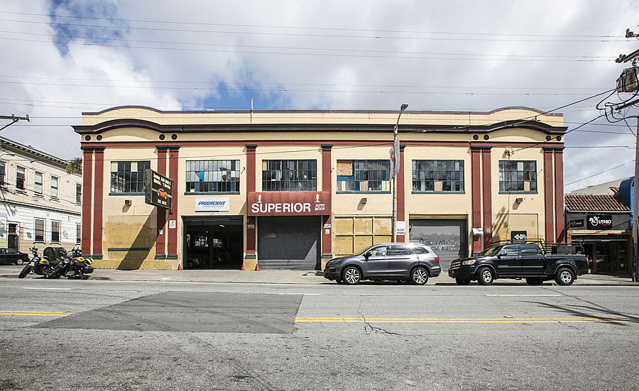 Historic Mission District Garage Back on the Market, Again