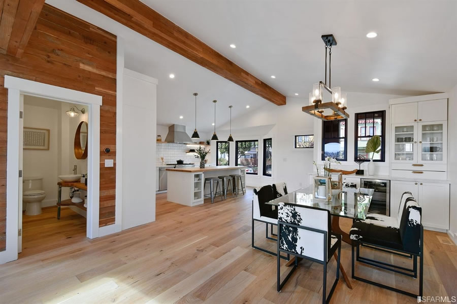 643 Mangels Avenue Dining and Kitchen