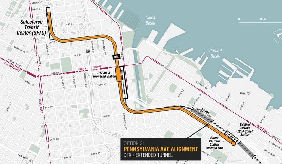 Path for Trains to Reach SF's New Transit Center Has Been Picked