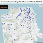 Complaints Related to Illegal Airbnb-Ing in S.F. Cut in Half