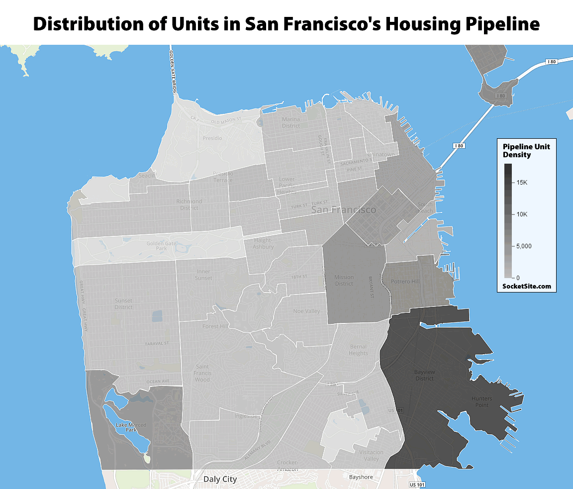 Record Pipeline of Residential Development in San Francisco Grows