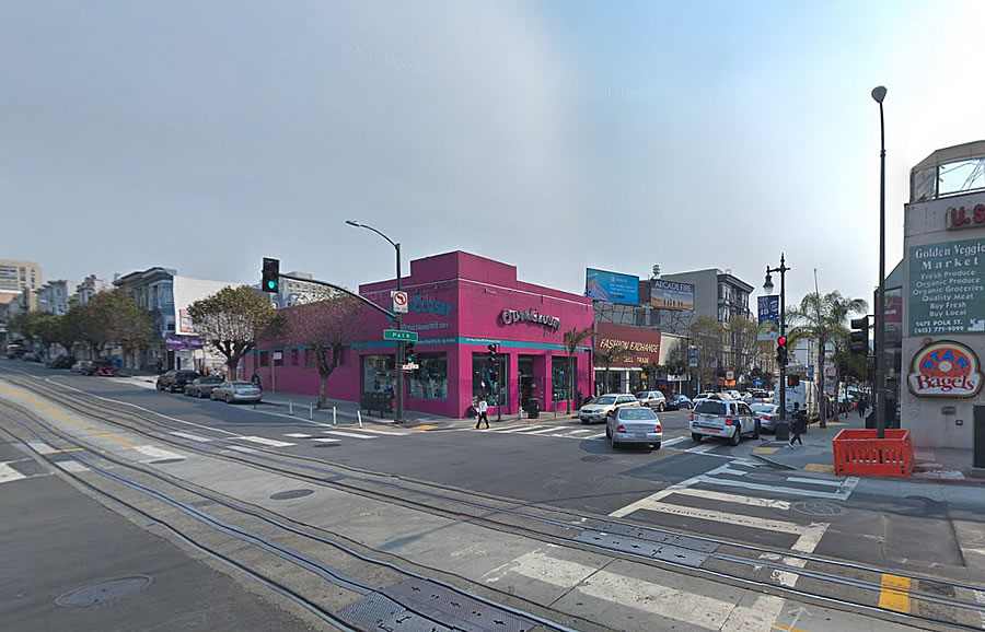 Bigger Plans for Prominent Polk Street Corner