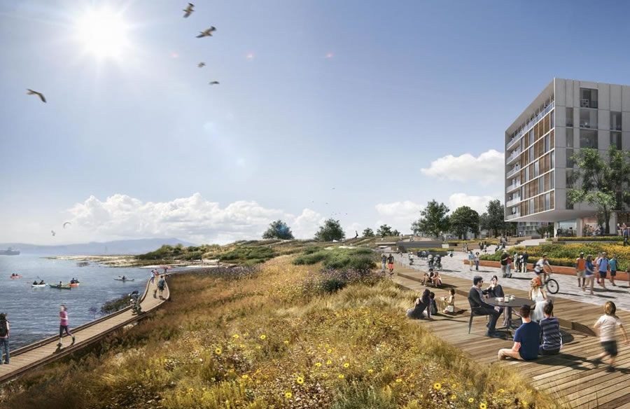 India Basin Redevelopment Rendering 2018 - Cove