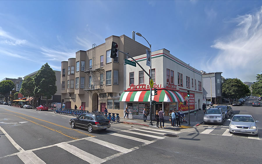 Lucca's Mission District Parking Lot in Play