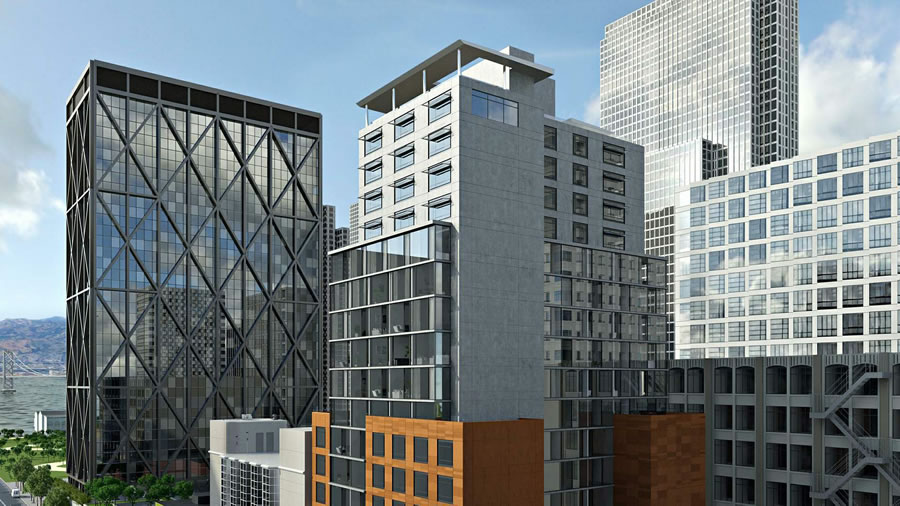 439 Washington Street Rendering Revised - Crown