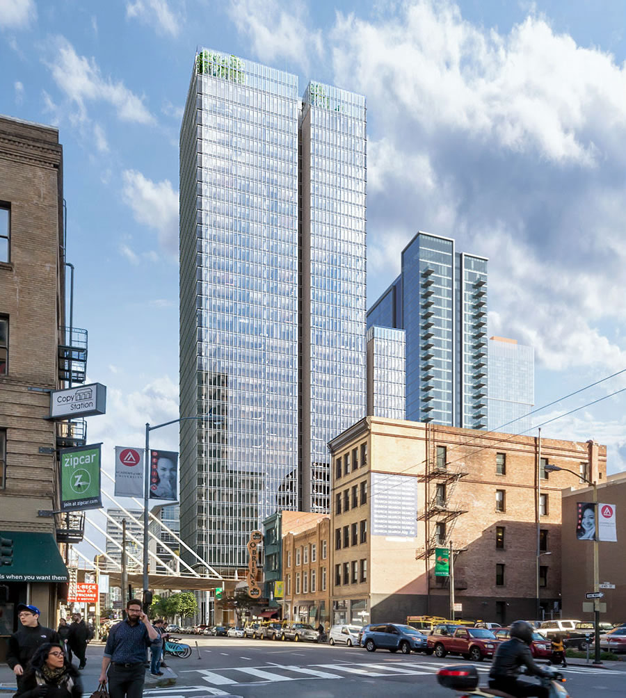 Modified Plans for Condoless Hotel Tower Closer to Reality