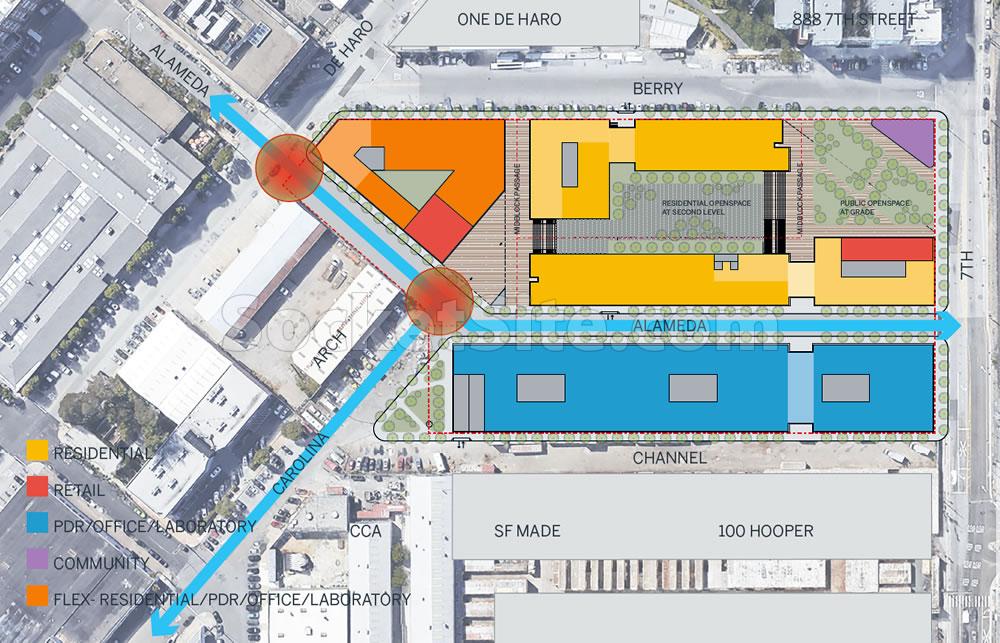 900 7th Street Site Plan
