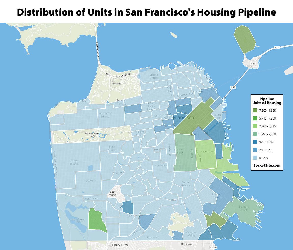 Record Pipeline of Development in San Francisco Continues to Grow