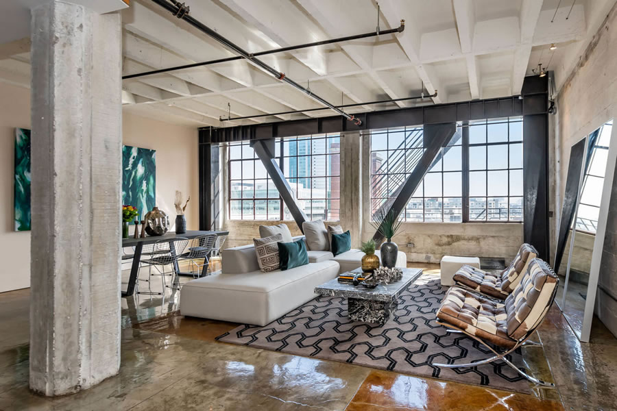 Modern Loft Now Listed for 14 Percent below its 2014 Price