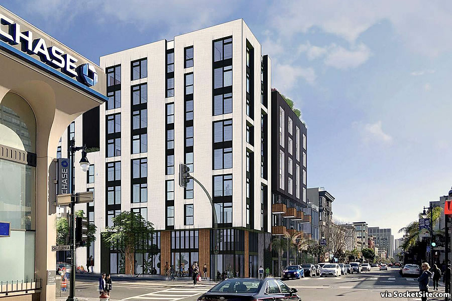 Bonus Plans for Prominent Polk Street Site Newly Rendered