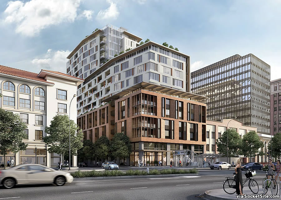 Refined Plans for 18-Story Berkeley Development Slated for Approval