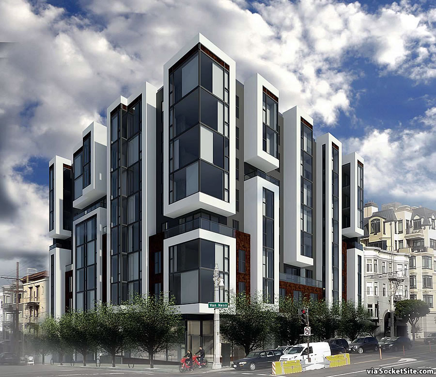 Supersized Van Ness Corridor Development Closer to Reality