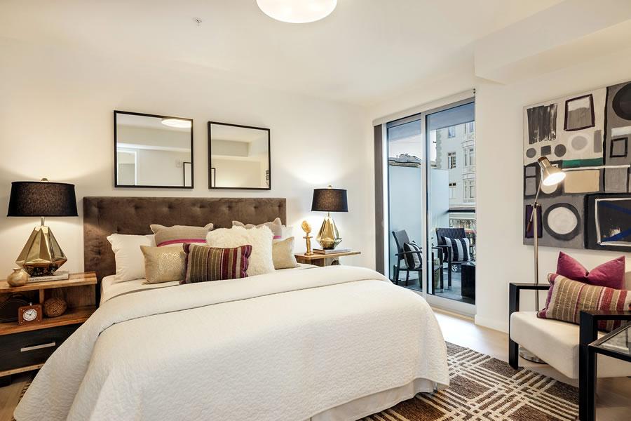 3590 20th Street #205 Bedroom