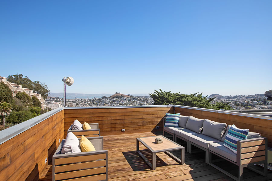 525 28th Street 2018 - Roof View