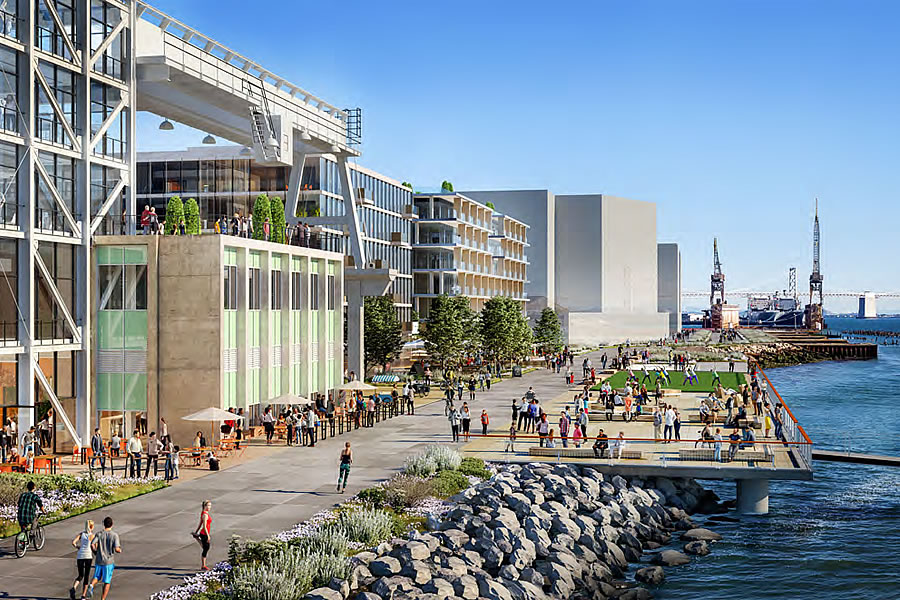 Potrero Power Plant Rendering - Waterfront